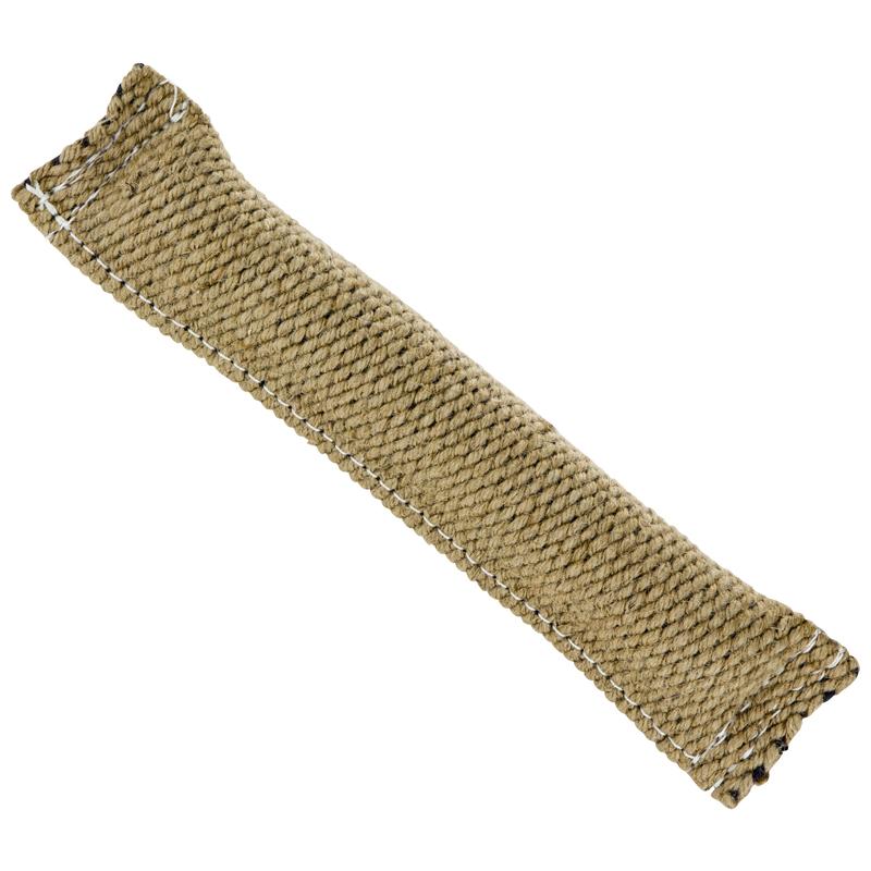 Pešek jutový, šitý, bez poutka, 3 x 25 cm
