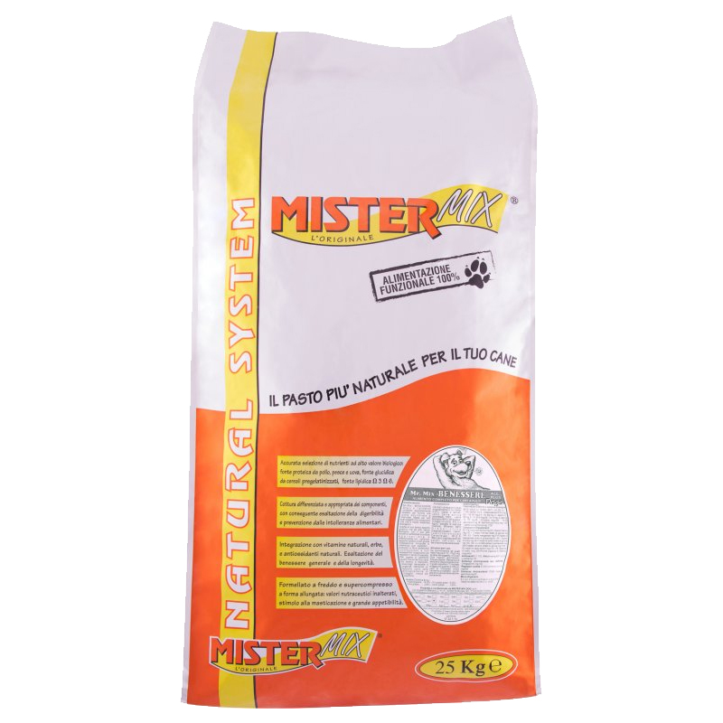 MR. MIX benessere dogs 25 kg