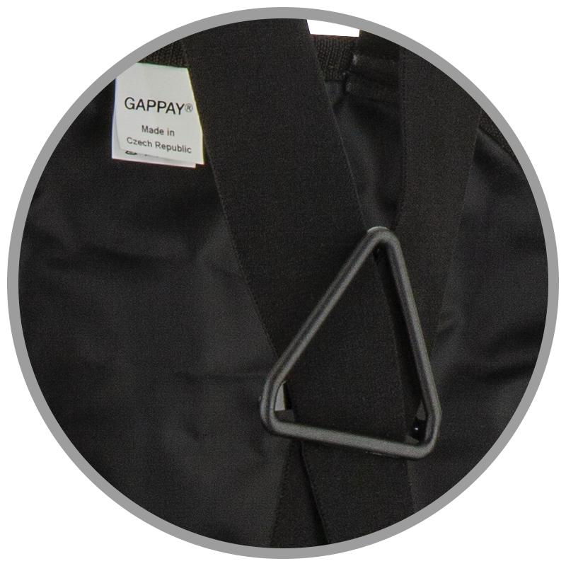 Kalhotová zástěra, látka