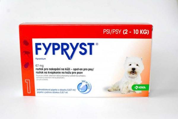Fypryst pro psy 2-10 kg, spot-on