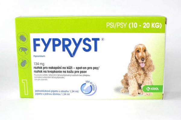 Fypryst pro psy 10-20 kg, spot-on