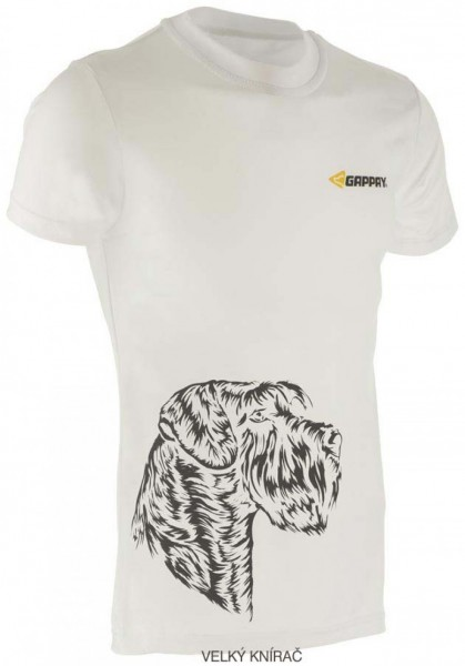 Funkční triko, bílé