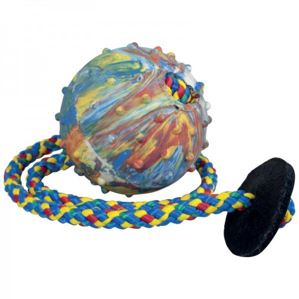 Balónek s kroužkem, šňůrka