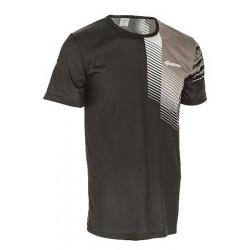 Tričko unisex - krátký rukáv, černo-šedé