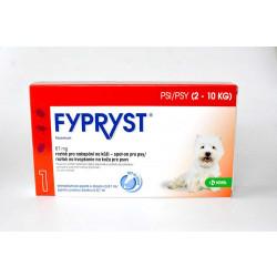 Fypryst pro psy 2-10kg, spot-on