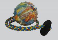 Balónek s kroužkem, průměr 6, dl. 50 cm