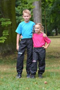 Kalhoty SUPRIMA KIDS, modrá (DOPRODEJ)