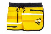 Dámské šortky - žlutočerné