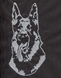 Výšivka - Německý ovčák 1