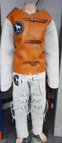 KNPV kožený oblek – kabát a kalhoty