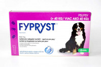 Fypryst pro psy nad 40kg, spot-on