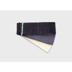 Předměty stopa - kůže, filc, dřevo