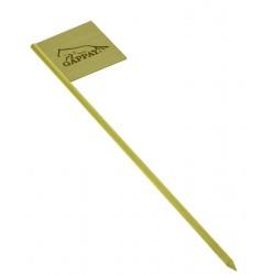 Cedulka na stopy - dřevo