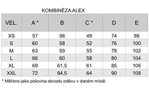 tabulka velikosti